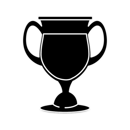 Glass cup isolated icon vector illustration graphic design Reklamní fotografie - 83828938