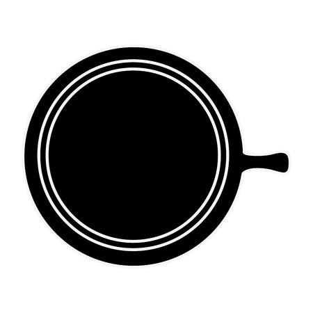 Delicious coffee mug icon vector illustration graphic design Illustration