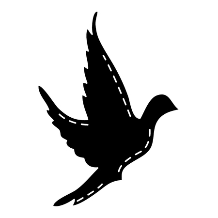 かわいい鳩のアイコン ベクトル イラスト デザイン 写真素材 - 83916300