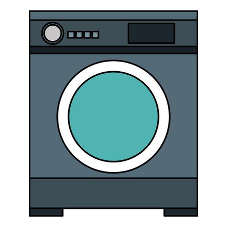 wash machine isolated icon vector illustration design Ilustração