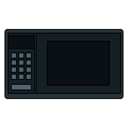 microwave oven isolated icon vector illustration design Imagens - 83918113