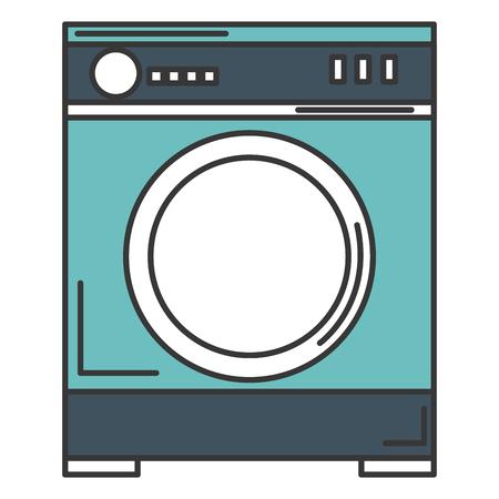 ontwerp van de het pictogram vectorillustratie van de wasmachine het geïsoleerde
