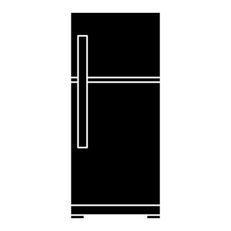 fridge appliance isolated icon vector illustration design