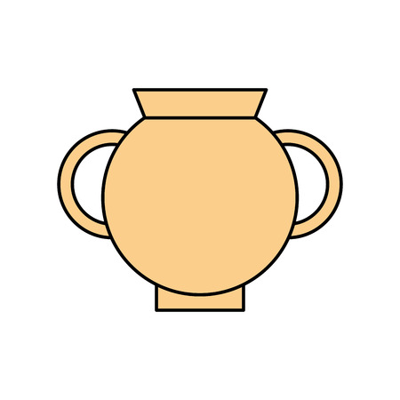 Old museum vase icon vector illustration design Stok Fotoğraf - 83947480