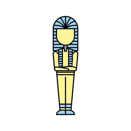 Ancient egyptian tomb icon design illustration vector illustration Banque d'images - 83946925