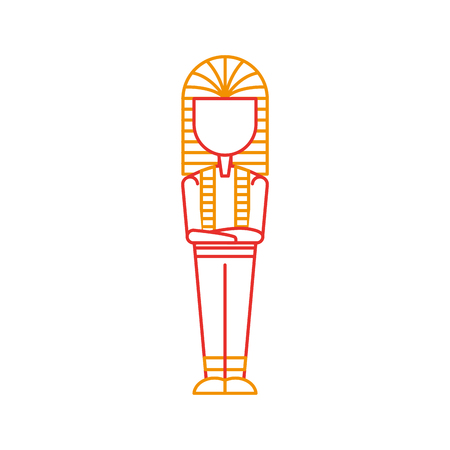 Ancient egyptian tomb icon vector illustration design Ilustrace