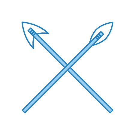 antique arrows isolated icon vector illustration design Фото со стока - 83946856