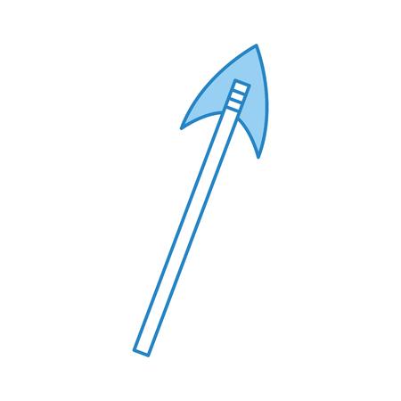 골동품 화살표 격리 아이콘 벡터 일러스트 디자인 일러스트