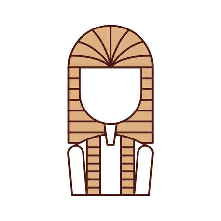 Ancient egyptian tomb icon vector illustration design Ilustração