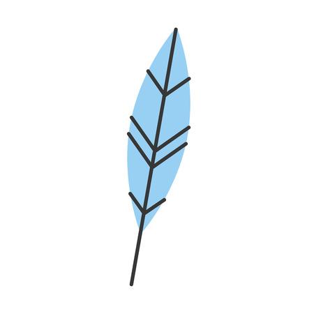Plume encre isolé icône du design illustration vectorielle Banque d'images - 83947599