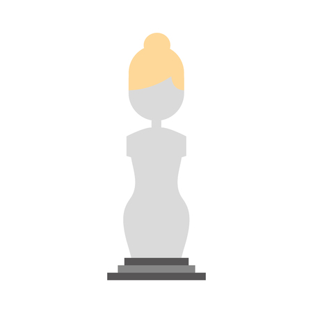 Museum column isolated icon vector illustration design Stok Fotoğraf - 83947604
