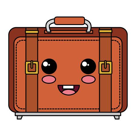 Voyage valise icône isolé design illustration vectorielle Banque d'images - 83947691