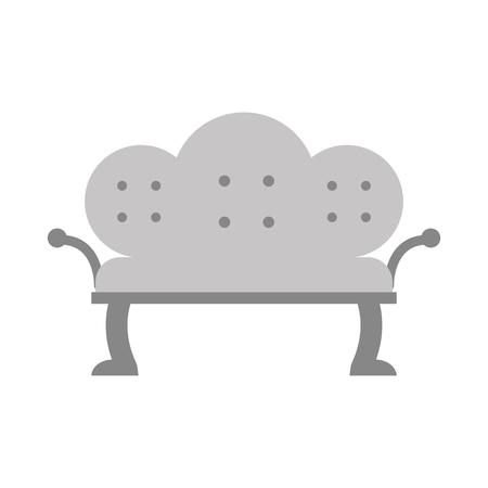 골동품 소파 격리 아이콘 벡터 일러스트 디자인 스톡 콘텐츠 - 83947692