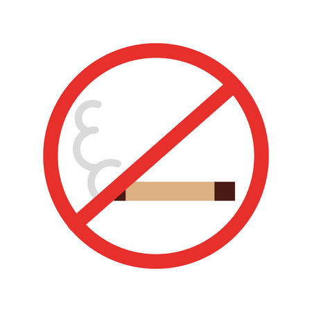 interdiction: no smoking isolated icon vector illustration design