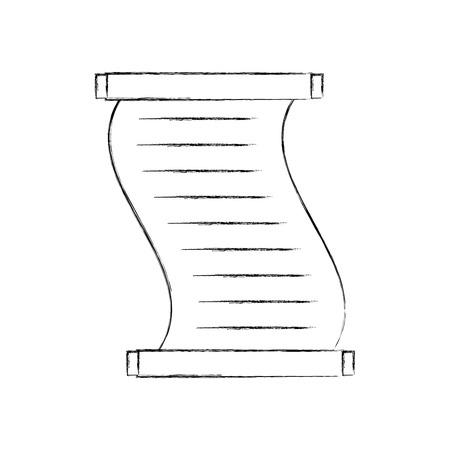 Musée papyrus icône isolé design illustration vectorielle Banque d'images - 83950707