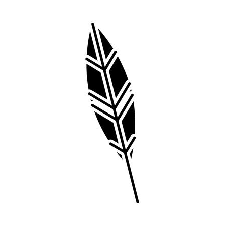 Plume encre isolé icône vector illustration design Banque d'images - 83947894