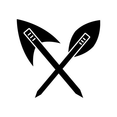 antique arrows isolated icon vector illustration design Фото со стока - 83947942
