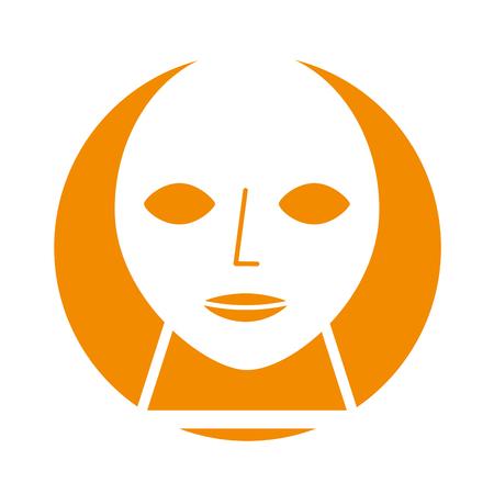 Kopf Skulptur Museum Symbol Vektor-Illustration Design Standard-Bild - 83948125