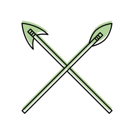 antique arrows isolated icon vector illustration design Фото со стока - 83948138