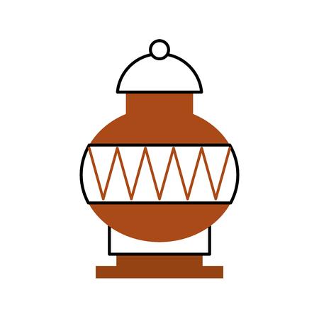 Old museum vase icon vector illustration design Stock fotó - 83948170