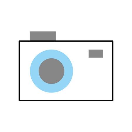 photographic camera isolated icon vector illustration design Stok Fotoğraf - 83948183