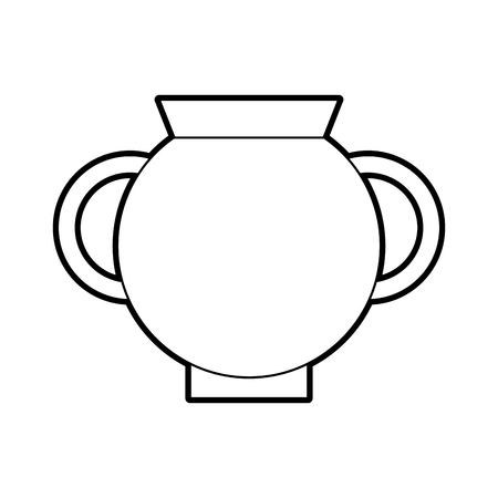 Old museum vase icon vector illustration design 向量圖像