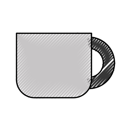 coffee cup isolated icon vector illustration design Illustration
