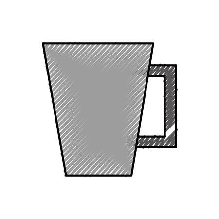 coffee cup isolated icon vector illustration design Stock Vector - 83950141
