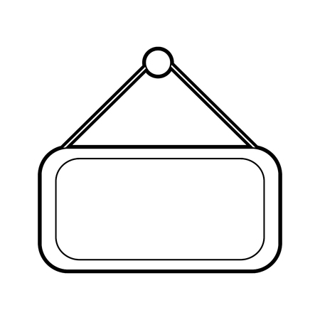 market label door icon vector illustration design