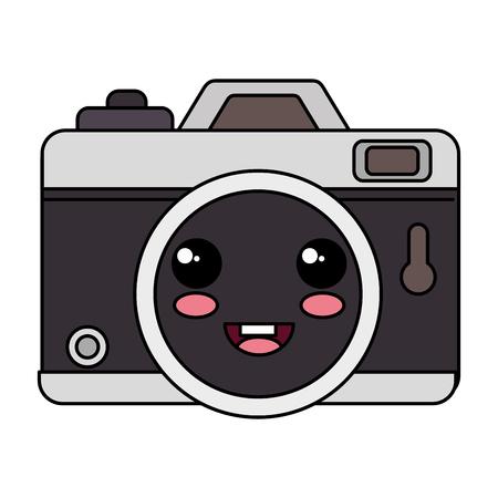 photographic camera kawaii character vector illustration design Stok Fotoğraf - 84067478