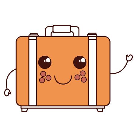 Valise voyage caractère vector illustration design Banque d'images - 84064244