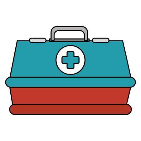 A medical kit isolated icon vector illustration design.