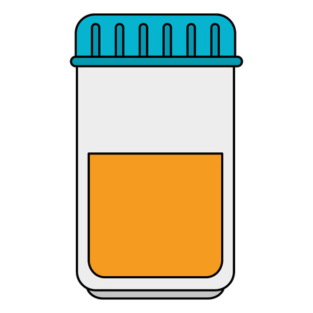A bottle drugs isolated icon vector illustration design.