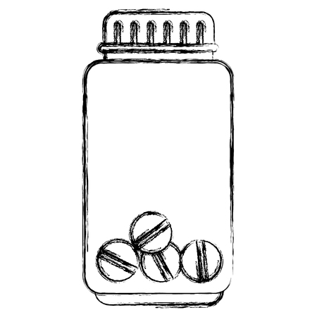 bottle drugs isolated icon vector illustration design Фото со стока - 84064149