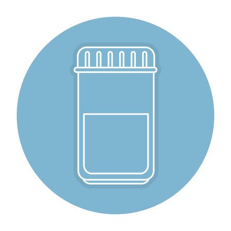 bottle drugs isolated icon vector illustration design Фото со стока - 84064217