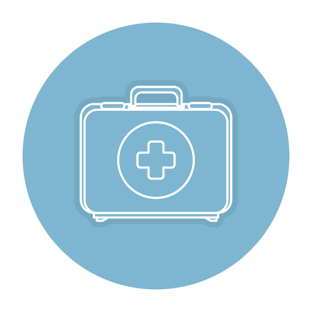 case: medical kit isolated icon vector illustration design