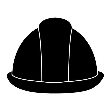 Construction helmet icon. Vetores