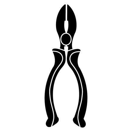 Pliers tools icon.