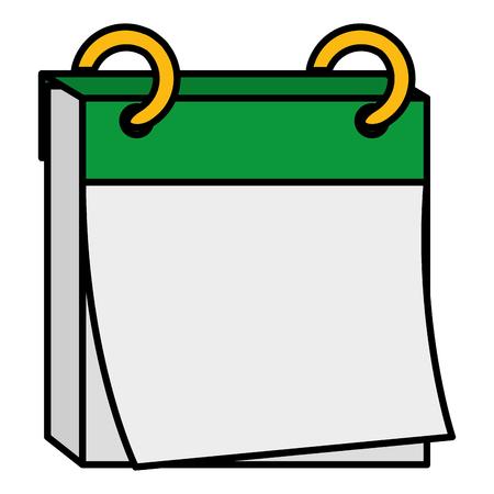 Een kalender herinnering geïsoleerd pictogram vector illustratie ontwerp. Stockfoto - 84065486