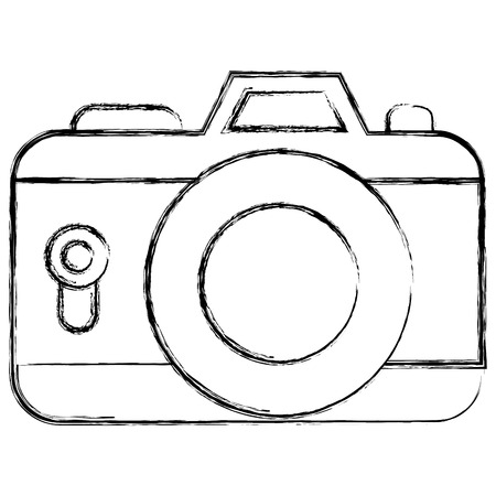 Camera photographic isolated icon vector illustration design Иллюстрация