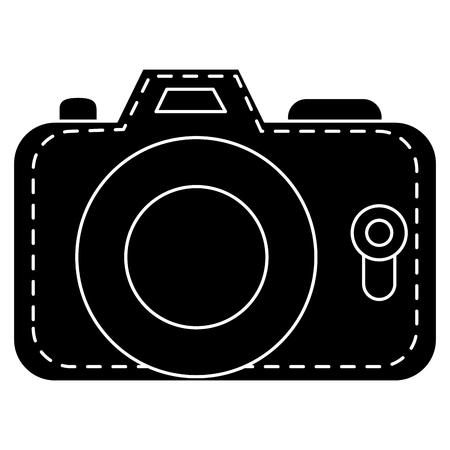 Camera photographic isolated icon vector illustration design Ilustrace