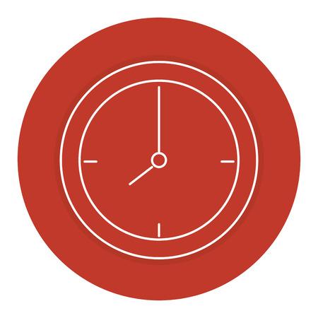 time clock isolated icon vector illustration design Фото со стока - 84067227
