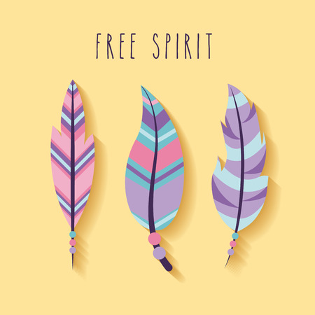 free spirit cartoon scene icon vector illustration design graphic 向量圖像
