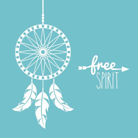 free spirit cartoon scene icon vector illustration design graphic Illustration