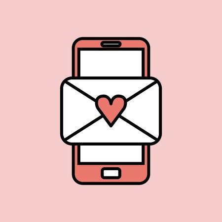 Love card design, vector illustration eps10 graphic