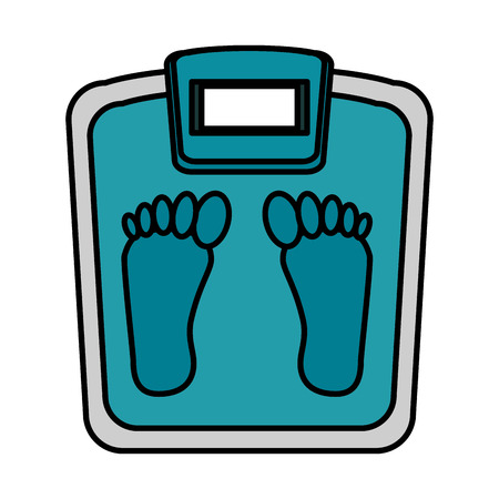 scale weight measure icon vector illustration design 向量圖像