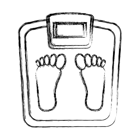 scale weight measure icon vector illustration design Ilustracja