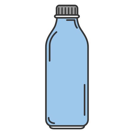 plastic bottle isolated icon vector illustration design Иллюстрация