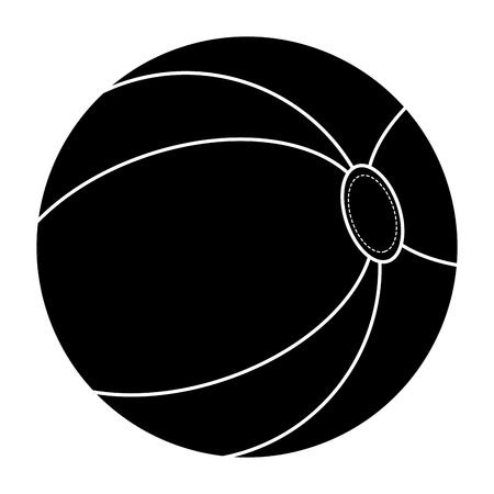 Kunststoff-Ballon isoliert Symbol Vektor-Illustration, Design, Standard-Bild - 84227996