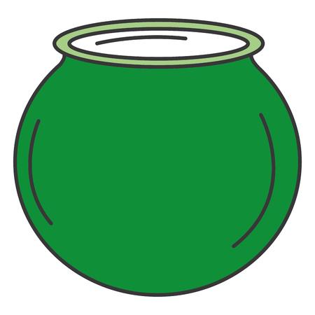 聖パトリックの大釜アイコン ベクトル イラスト デザイン